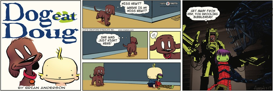 Dog Eat Doug Comic Strip for February 17, 2019