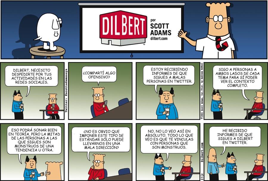 Dilbert en Español by Scott Adams on Sun, 07 Mar 2021