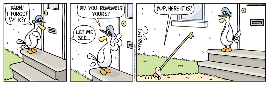 Ollie and Quentin Comic Strip for June 03, 2019