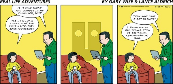 Real Life Adventures - Sunday January 20, 2019 Comic Strip