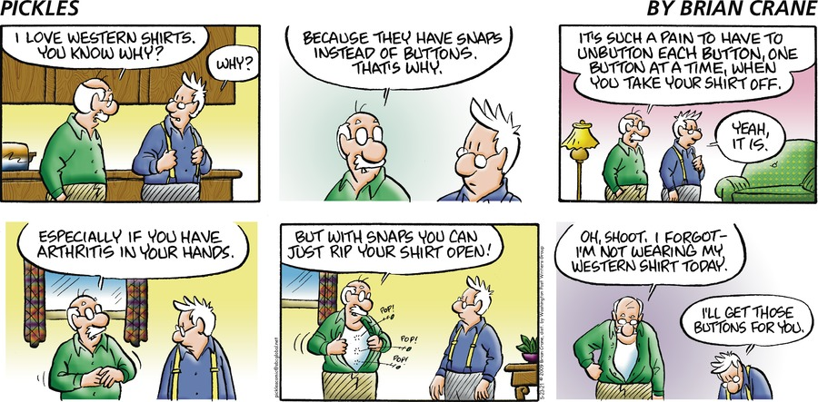 Pickles Comic Strip for May 23, 2021
