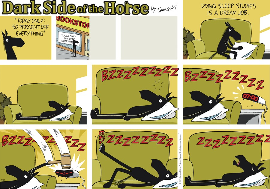 Dark Side of the Horse Comic Strip for May 30, 2021