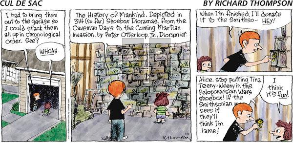 Cul de Sac on Sunday July 10, 2011 Comic Strip