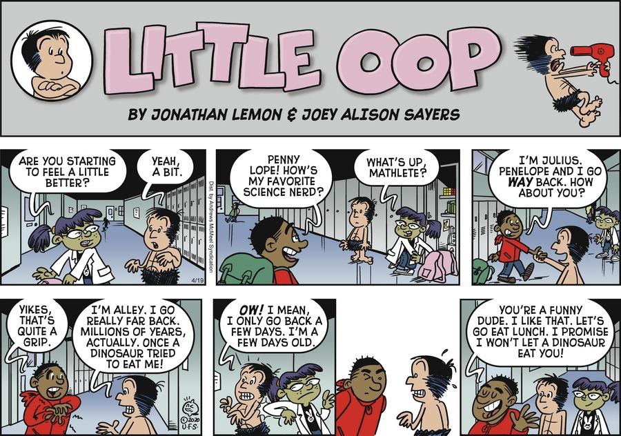 Alley Oop Comic Strip for April 19, 2020