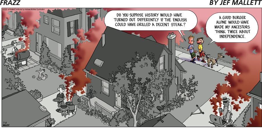 Frazz Comic Strip for July 05, 2020