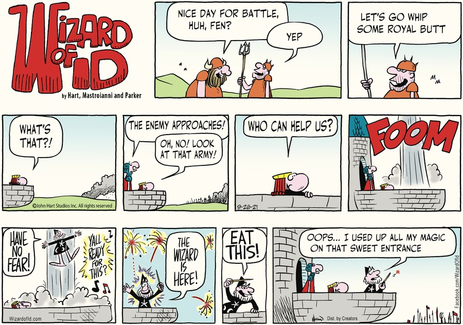 Wizard of Id Comic Strip for September 26, 2021