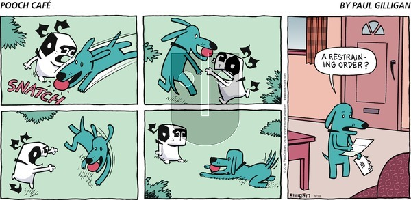 Pooch Cafe on Sunday September 29, 2019 Comic Strip