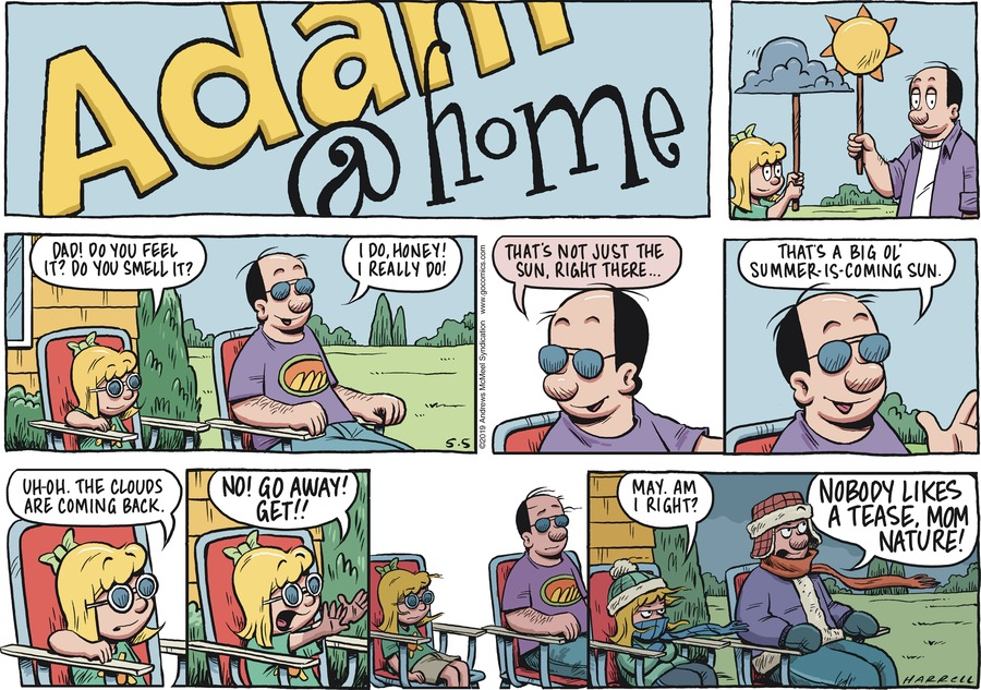Adam@Home by Rob Harrell for May 05, 2019