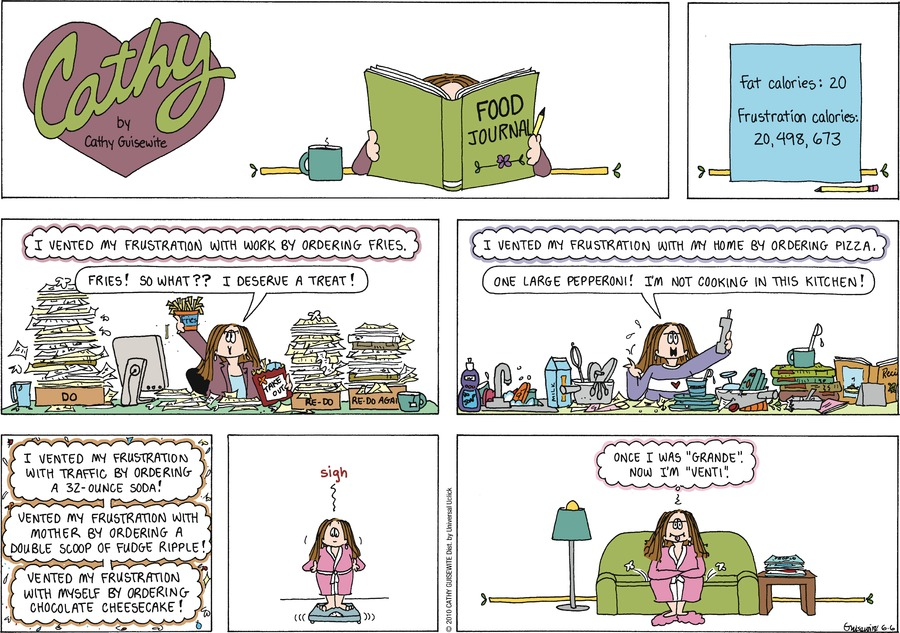 Cathy Classics by Cathy Guisewite on Sun, 06 Jun 2021