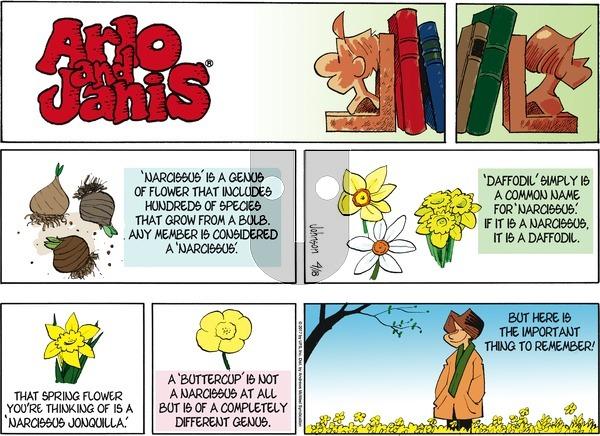 Arlo and Janis on Sunday April 18, 2021 Comic Strip