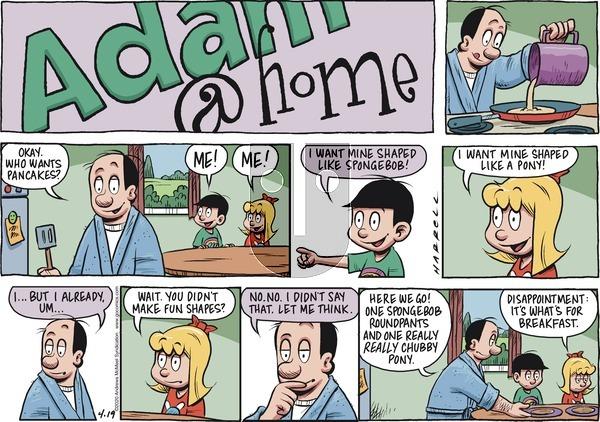 Adam@Home on Sunday April 19, 2020 Comic Strip