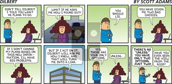 Dilbert on Sunday November 5, 2017 Comic Strip
