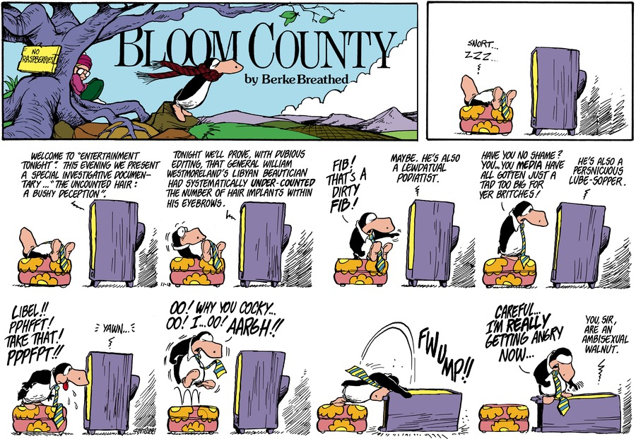 Bloom County Comic Strip for October 23, 2020