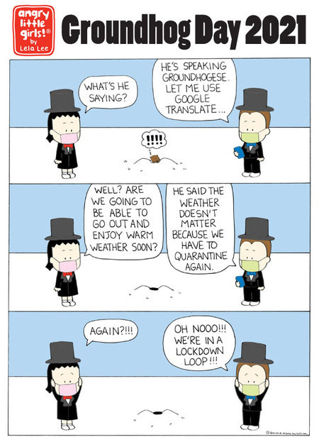 Angry Little Girls Comic Strip for February 01, 2021