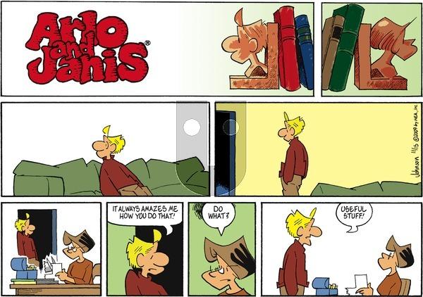 Arlo and Janis on Sunday November 15, 2009 Comic Strip