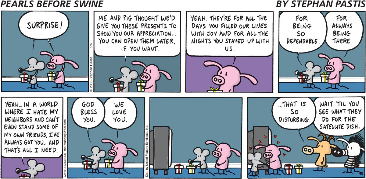 Pearls Before Swine Comic Strip for May 08, 2005