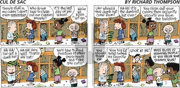 Cul de Sac on Sunday June 24, 2018 Comic Strip