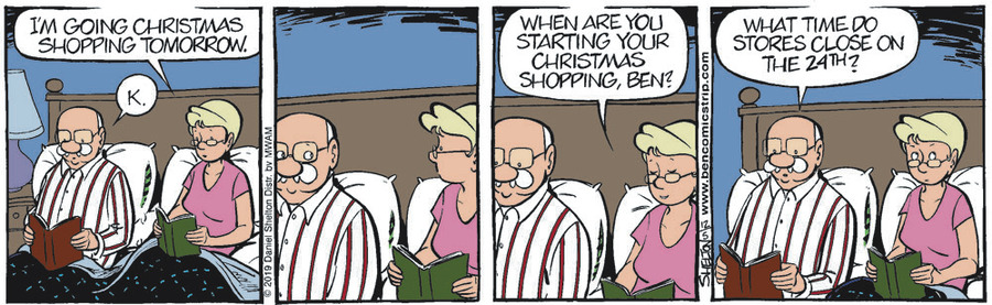 Ben Comic Strip for December 05, 2019