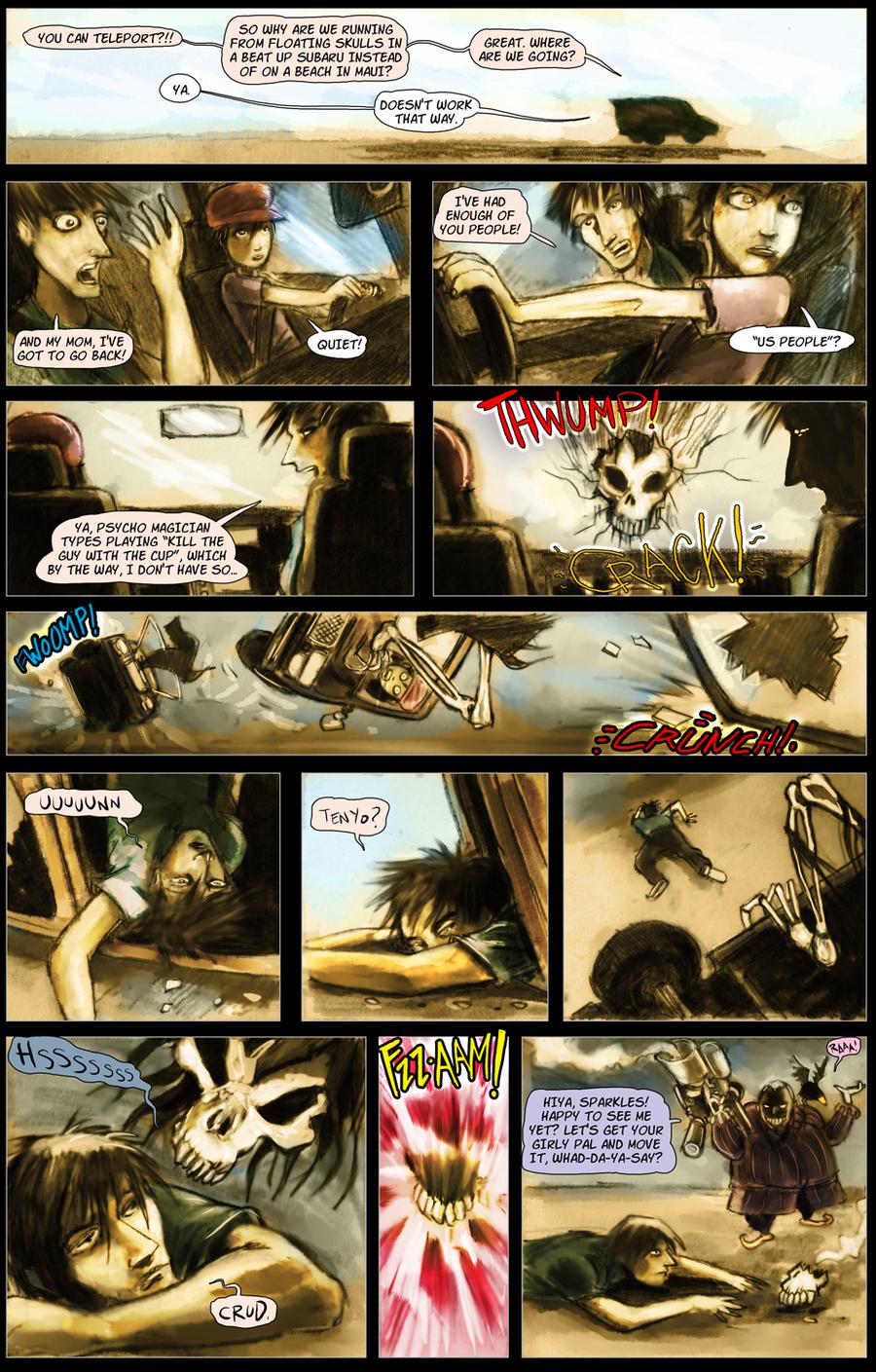 The Conjurers for Jun 23, 2014 Comic Strip