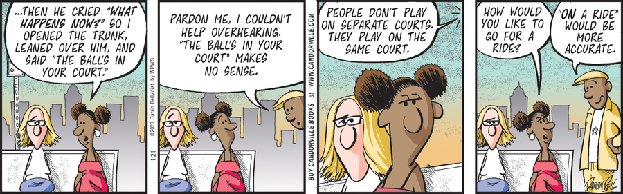 Candorville Comic Strip for January 21, 2020