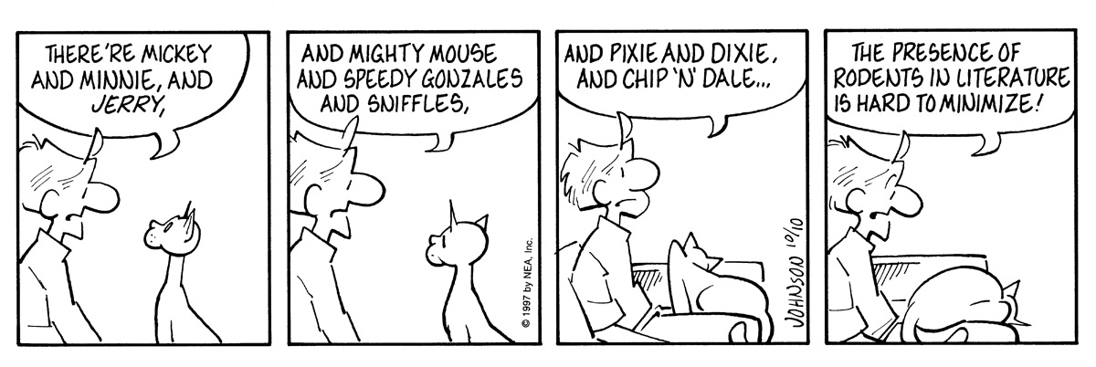 Arlo and Janis for Oct 10, 1997 Comic Strip