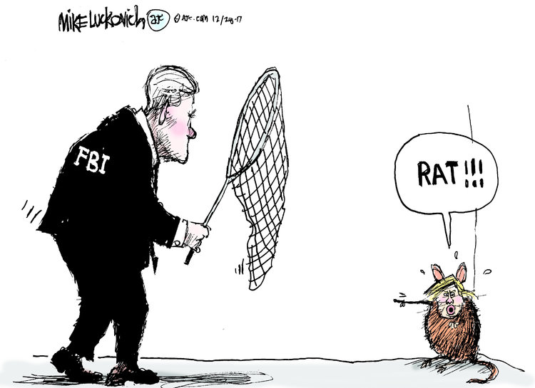 Mike Luckovich Comic Strip for December 28, 2017