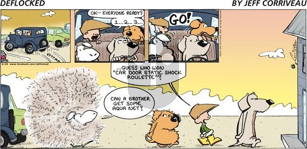 DeFlocked on Sunday June 30, 2013 Comic Strip