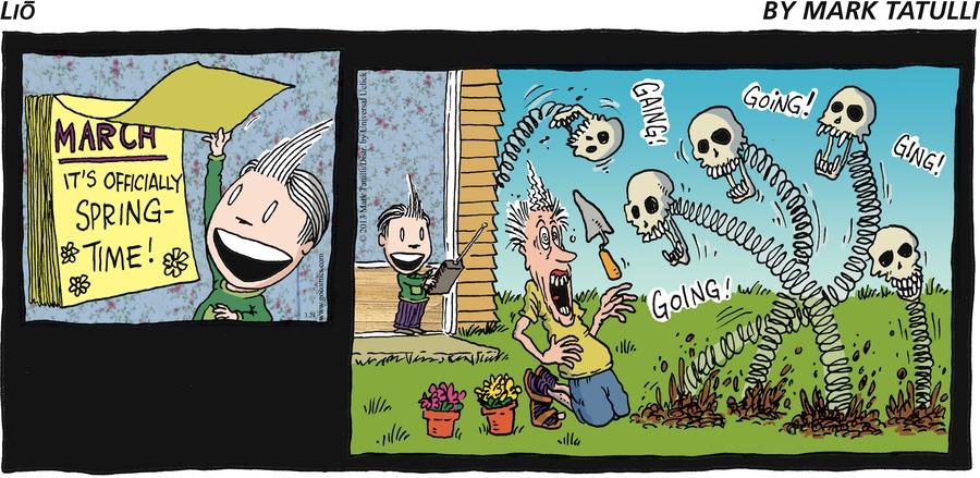 Lio for Mar 24, 2013 Comic Strip