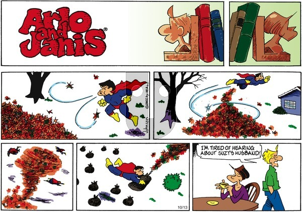 Arlo and Janis on Sunday October 13, 2002 Comic Strip