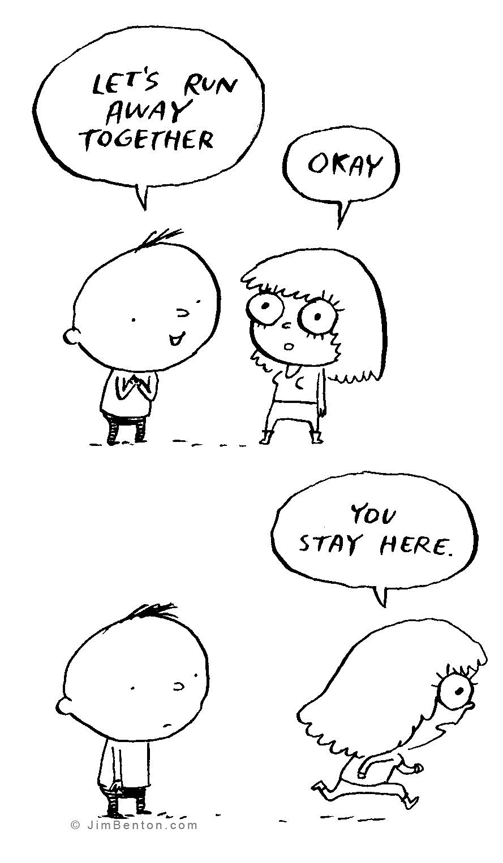 Jim Benton Cartoons Comic Strip for September 04, 2016