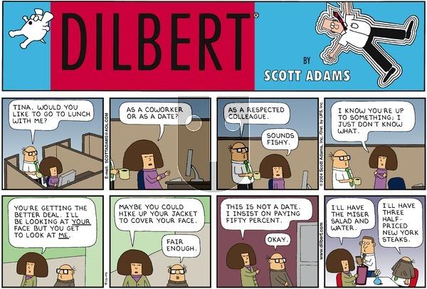 Dilbert - Sunday September 12, 2004 Comic Strip
