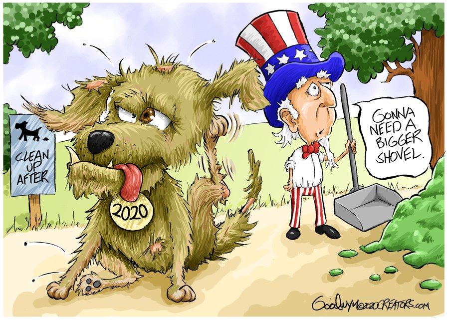 Al Goodwyn Editorial Cartoons Comic Strip for December 30, 2020