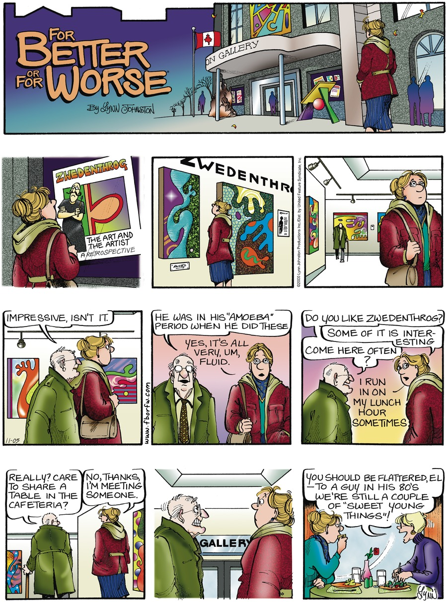 For Better or For Worse for Nov 5, 2000 Comic Strip