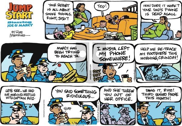 JumpStart on Sunday November 6, 2016 Comic Strip