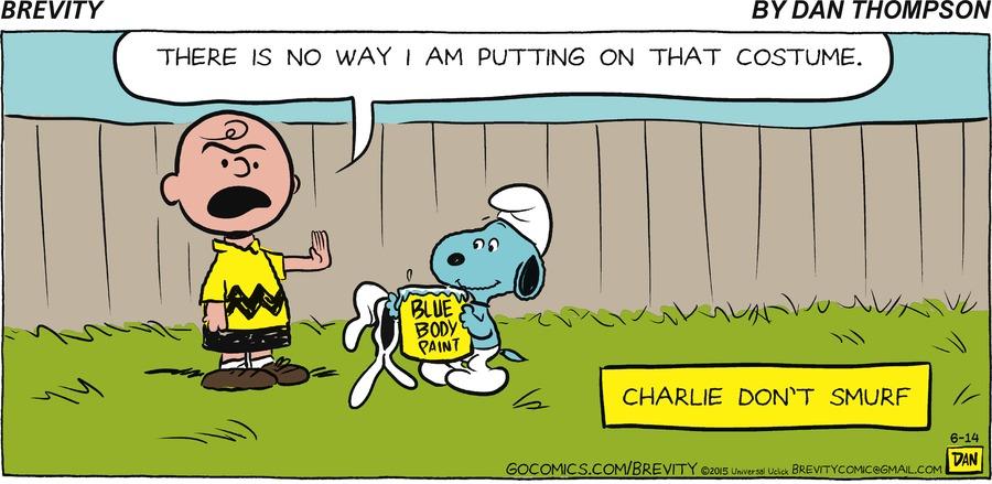 Brevity for Jun 14, 2015 Comic Strip
