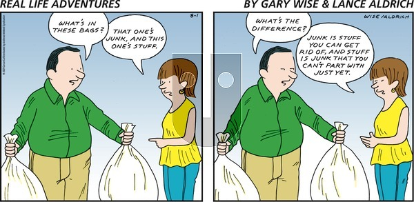Real Life Adventures - Sunday August 1, 2021 Comic Strip