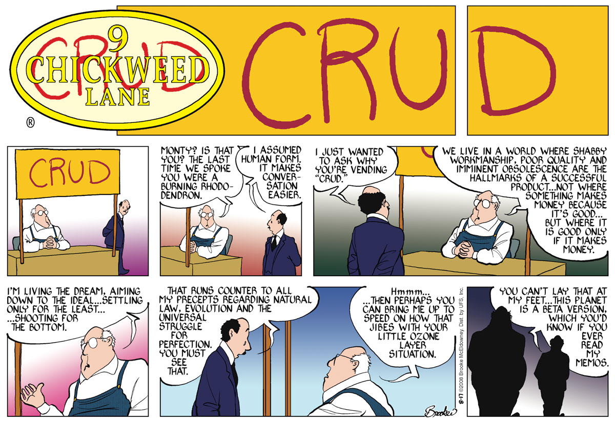 9 Chickweed Lane Comic Strip for August 17, 2008