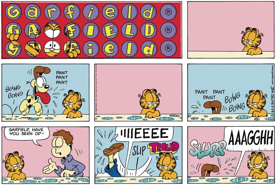 Garfield Comic Strip for May 23, 1999