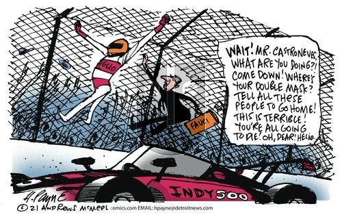 Henry Payne - Sunday May 30, 2021 Comic Strip