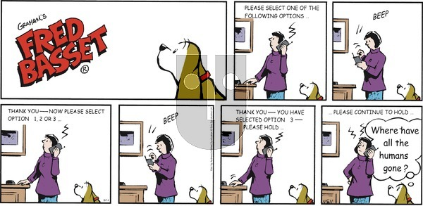 Fred Basset on Sunday June 14, 2020 Comic Strip