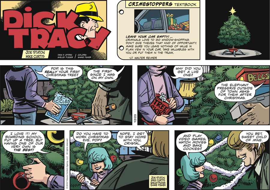 Dick Tracy Comic Strip for December 23, 2018