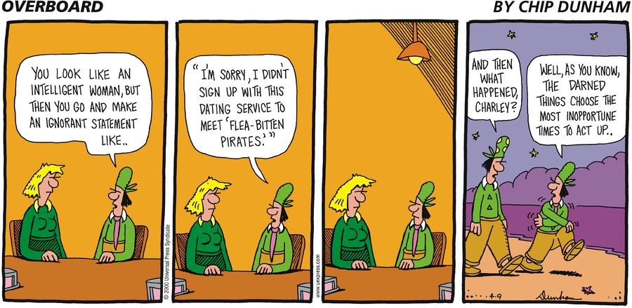 Overboard for Apr 9, 2000 Comic Strip