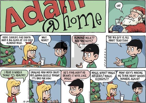 Adam@Home on Sunday December 24, 2017 Comic Strip