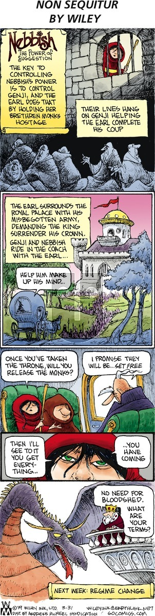 Non Sequitur on Sunday March 31, 2019 Comic Strip
