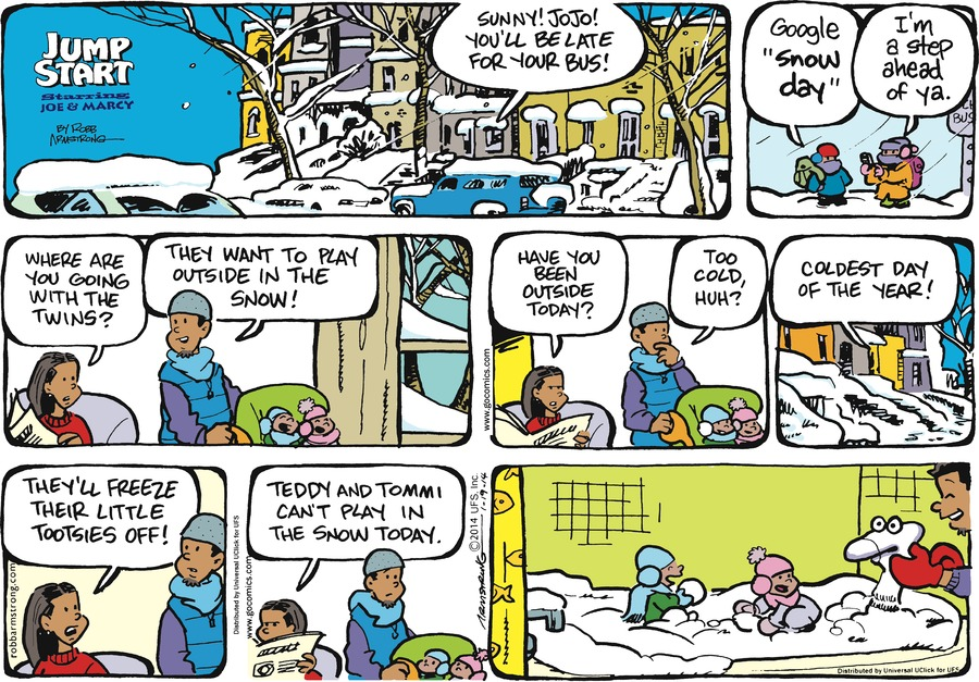 JumpStart Comic Strip for January 19, 2014