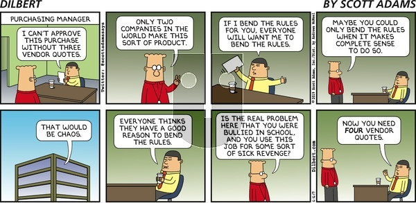Dilbert - Sunday June 16, 2019 Comic Strip