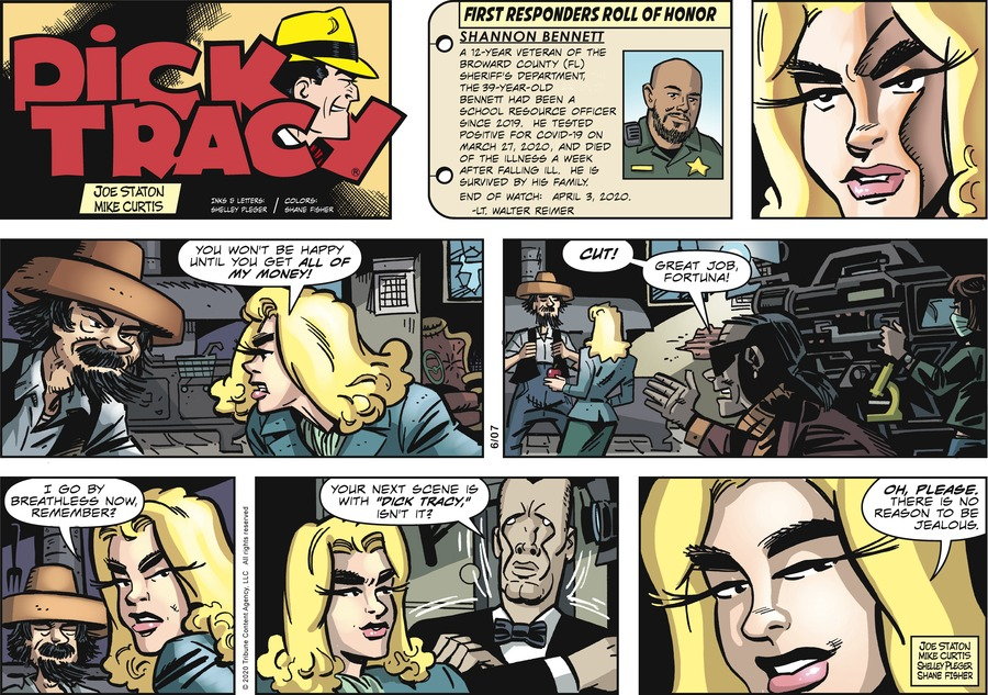 Dick Tracy Comic Strip for June 07, 2020