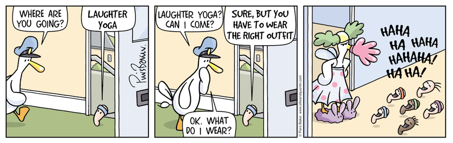Ollie and Quentin for Apr 11, 2013 Comic Strip