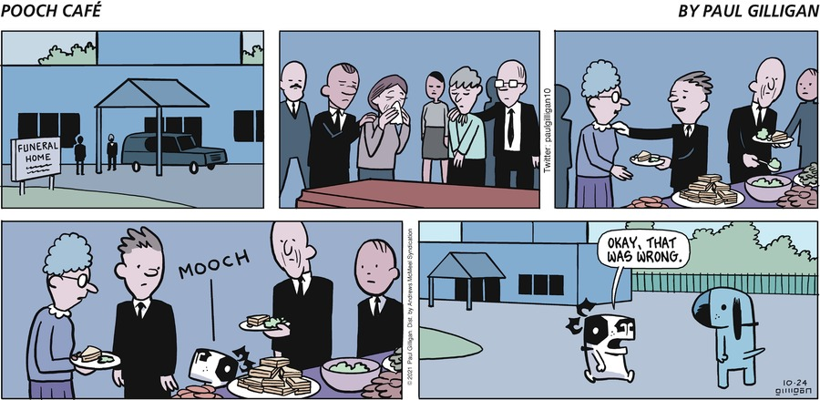 Pooch Cafe by Paul Gilligan on Sun, 24 Oct 2021