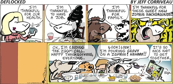 DeFlocked on Sunday November 22, 2020 Comic Strip